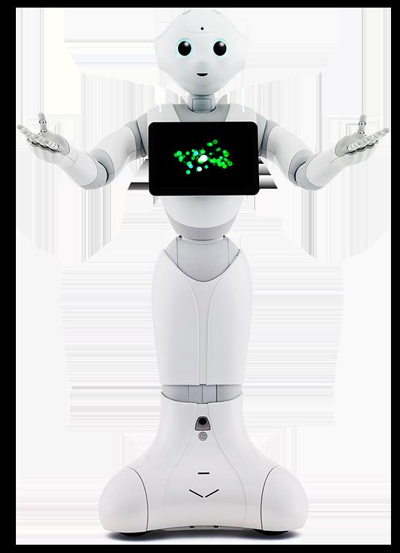 Alquiler Robot Pepper
