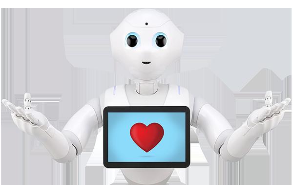 Alquiler robots eventos Pepper